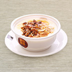 Double Boiled Milk with Baked Walnut & Almond