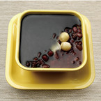 Sesame Paste & Red Bean Soup